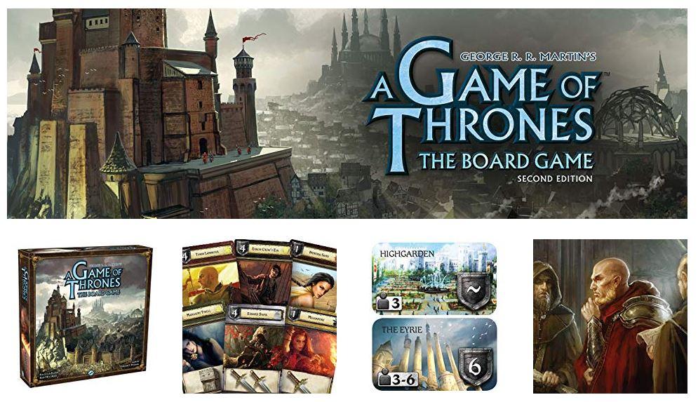 משחק לוח Game of Thrones