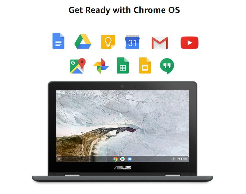 מחשב נייד Asus Chromebook Flip C214