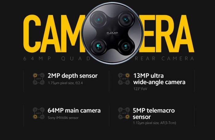 סמארטפון POCO F2 Pro דגם 6GB 128GB מבית שיאומי