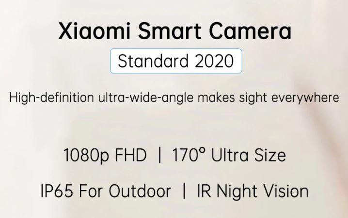מצלמת אבטחה Xiaomi Mijia Ai