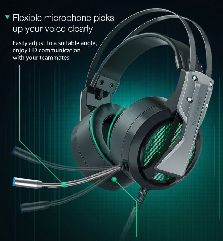 אוזניות גיימינג BlitzWolf BW-GH1