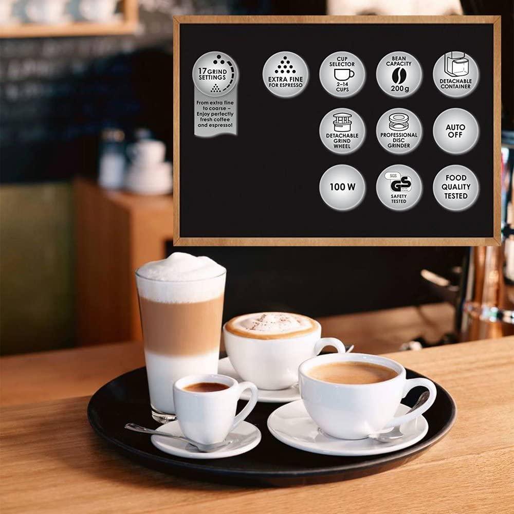 מטחנת קפה ותבלינים Melitta Molino