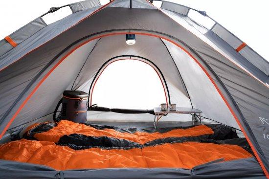אוהל פתיחה מהירה ל-2 אנשים I-CAMP Triton