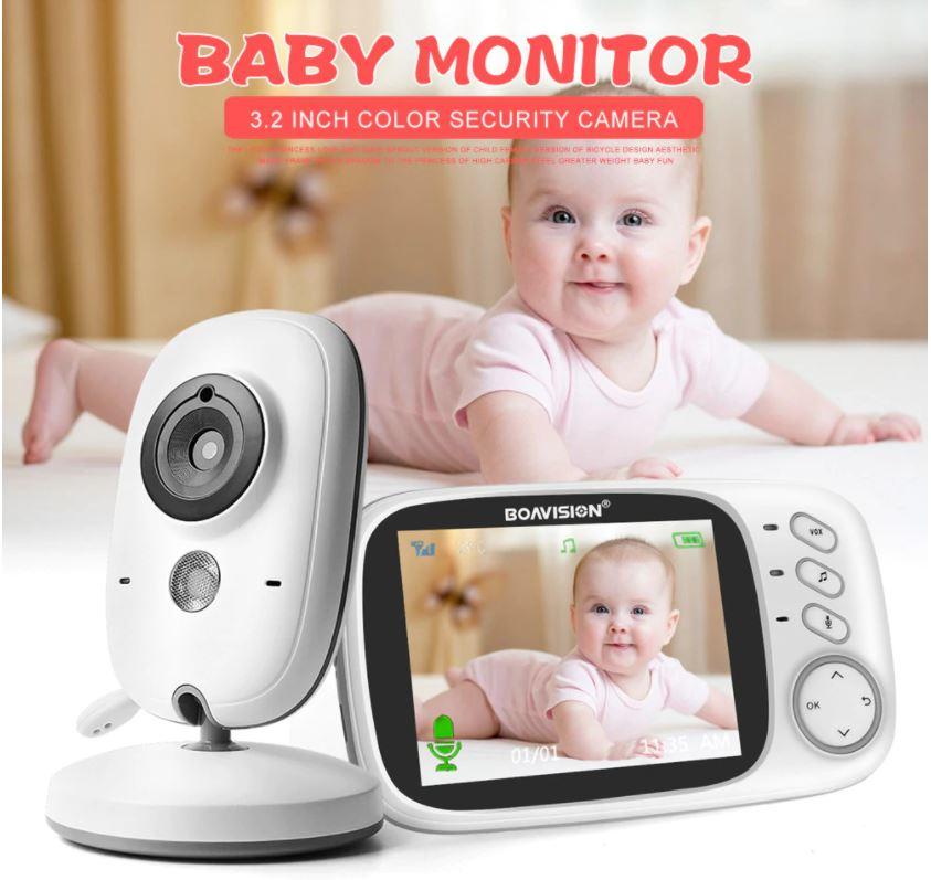 מוניטור אלחוטי לתינוק דגם VB603