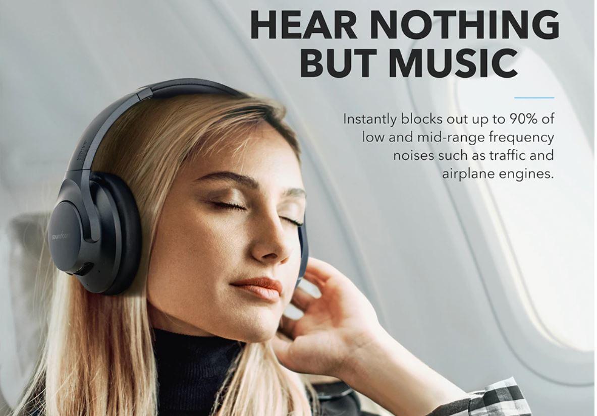 אוזניות אלחוטיות Anker Q20