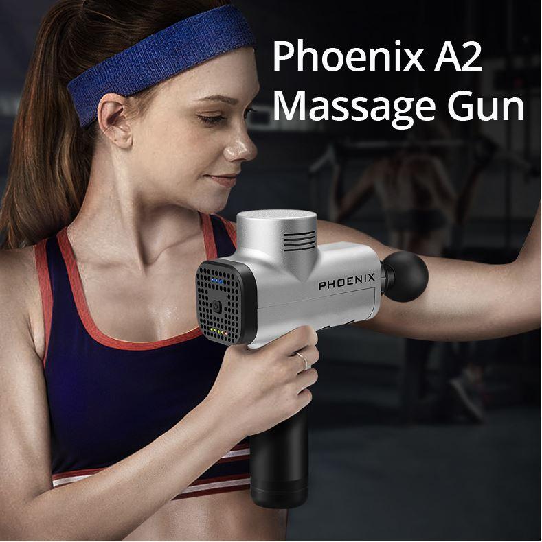 אקדח מסאז' מקצועי Phoenix A2