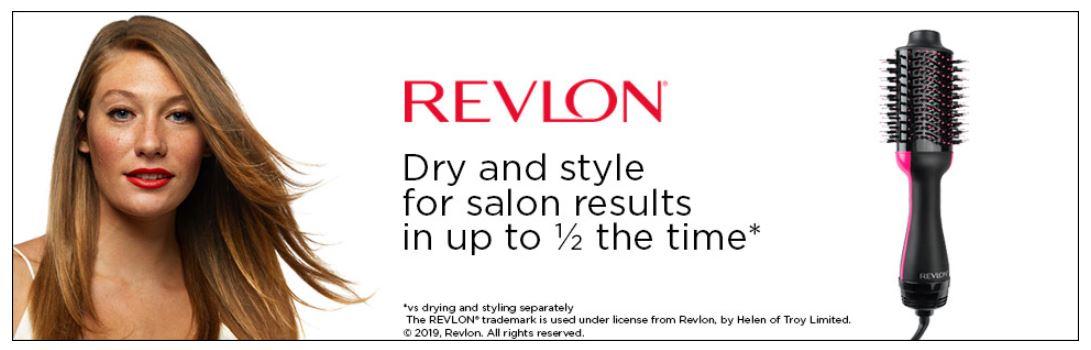 REVLON Pro מברשת פן ומייבש שיער