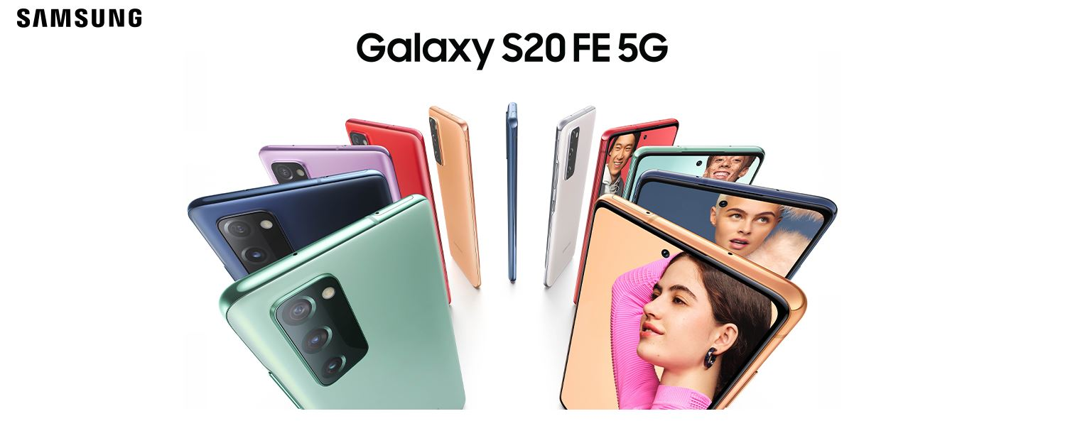 סמארטפון Samsung Galaxy S20 FE