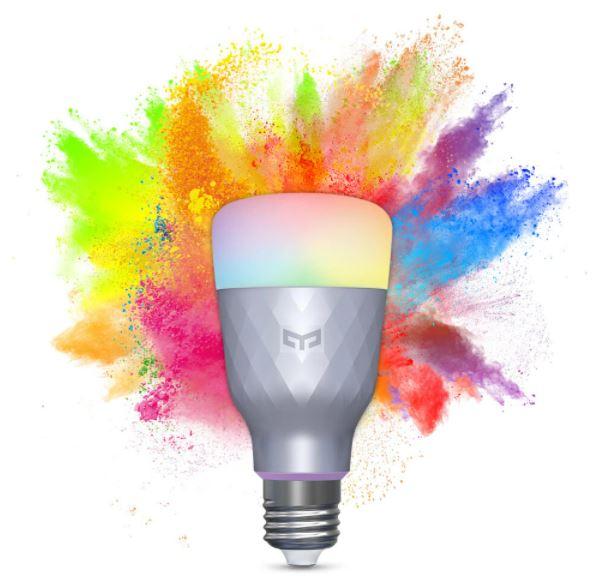 נורה חכמה צבעונית Yeelight YLDP001 E27 6W מבית שיאומי