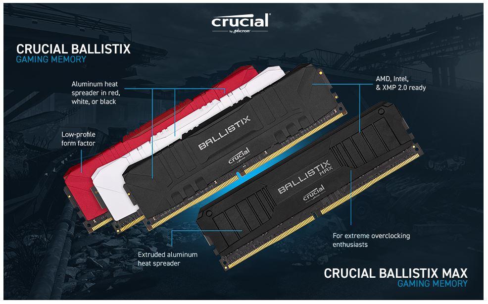 Crucial Ballistix 16GB
