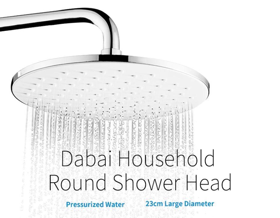 ראש מקלחת עגול Dabai