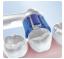 שמיניית ראשים Oral-B Precision Clean למברשת שיניים חשמלית אורל בי
