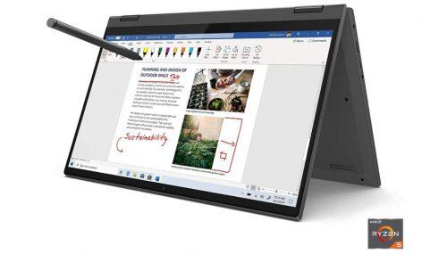 מחשב נייד Lenovo Flex 5 עם מסך טאץ 14″ לנובו כולל עט